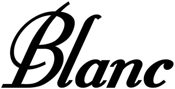 Blanc Wine Words Vinyl Wall Decal Sticker Many Colors to Choose from - Kitchen Removable Custom Easy to Install Wall Art