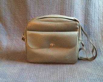 Vintage Sears Carry On Bag/Vintage Overnight