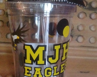 Personalized School Tumbler