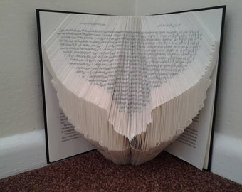 Book Folding Wings Pattern & Instructions