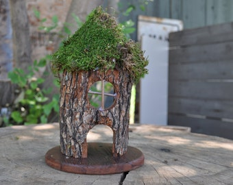 Small Fairy Log House