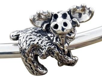 Moose Bracelet Bead/Charm