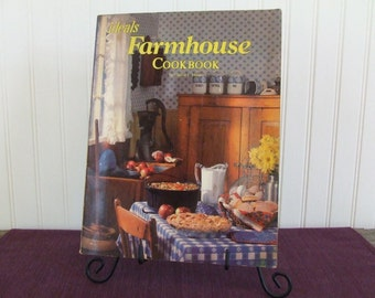 Farmhouse Cookbook, Vintage Cookbook