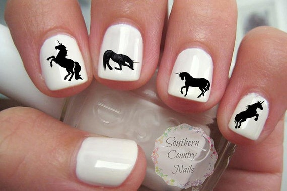 Unicorn Nail Art Decals
