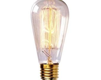 Edison carbon filament bulb/lamp/light bulb