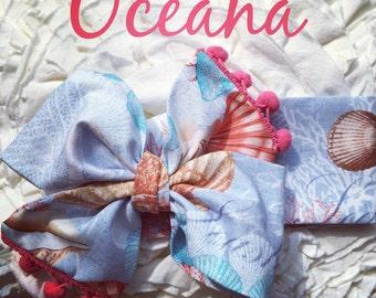 Oceana headwrap Homemade.