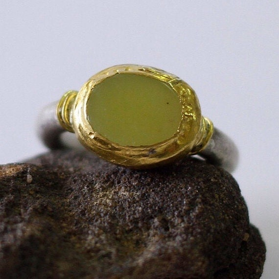 lemon jade ring jade engagement ring jade wedding band