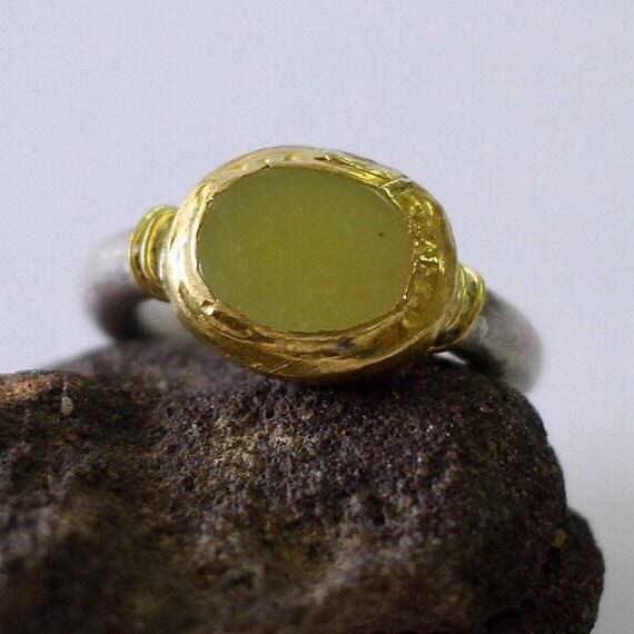 lemon jade ring jade engagement ring jade wedding band. Black Bedroom Furniture Sets. Home Design Ideas