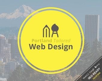 Web Design - Portland Tailored Custom Web Design Package