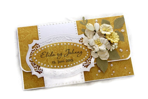 Unique Wedding Gift Card Holders : Gift - Gift For Newlyweds - Personalized Wedding Gift Card Holder ...