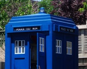 London Police Box woodworking plans |  PDF downloadable file