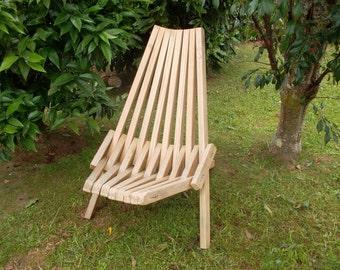Folding stick chair PDF | downloadable file