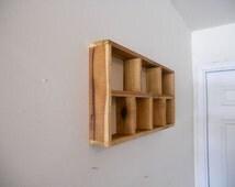 Wall shelves,shelving unit,shelves,rustic shelves,wall candle holder,wood shelves,floating shelves,book shelves,bathroom shelves
