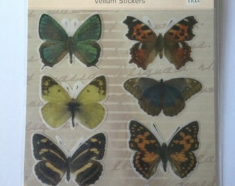 Claudia Elyse butterfly stickers