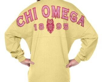 Chi Omega - Fun n' Flair (Greek) Spirit Jersey (J0470152162)