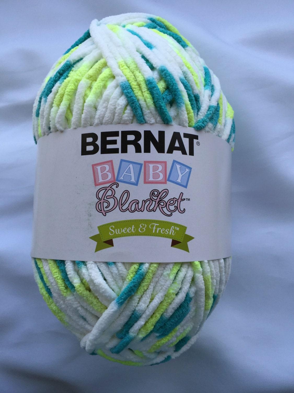 Fresh Start Ombre 98005 Bernat Baby Blanket Sweet Amp Fresh Yarn