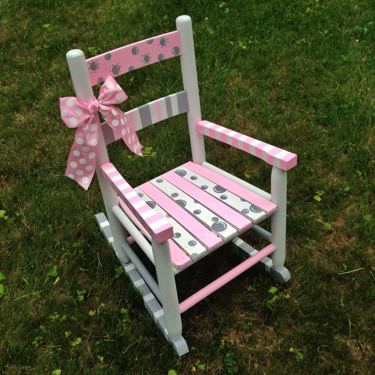 Hand painted Rocking Chair Nursery Decor Children s