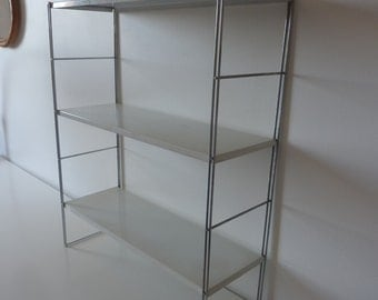 Metal shelf, 60s vintage