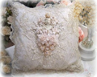 Gilded Opulence Square Pillow