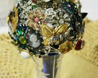 Antique Brooch Bouquet