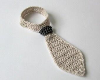 Newborn necktie, baby boy necktie, crochet baby necktie, christening necktie ,infant necktie, todler necktie,first birthday outfit boy