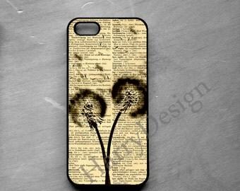 Dandelion Phone case, iPhone 6, iPhone 6 Plus, iPhone 4 / 4s / 5 / 5s /5c case, Samsung Galaxy S3 / S4 / S5 case, Samsung Note 2, 3, 4 case