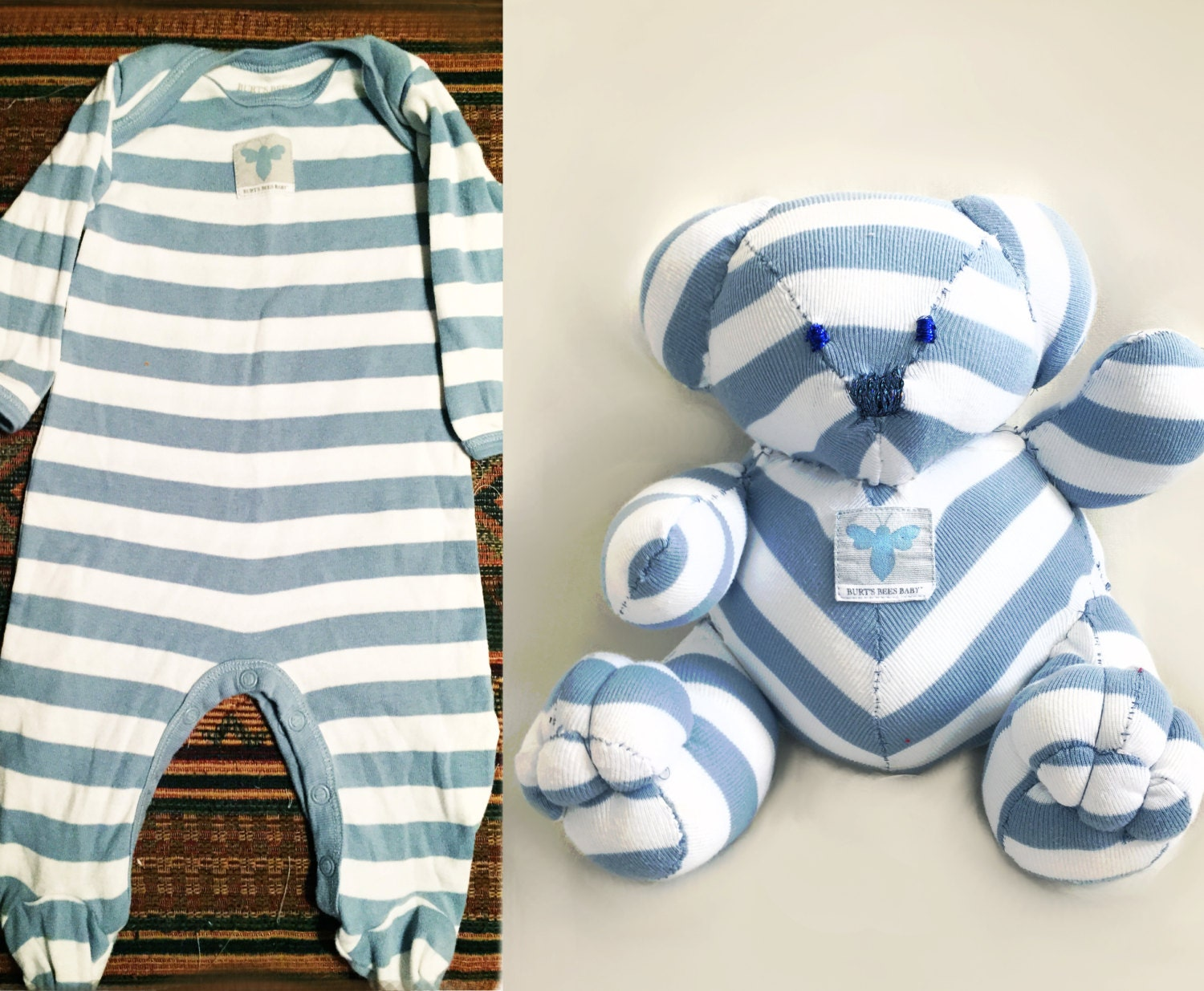 Teddy bear pattern from baby sleepers memory bear bear sleeper onesie