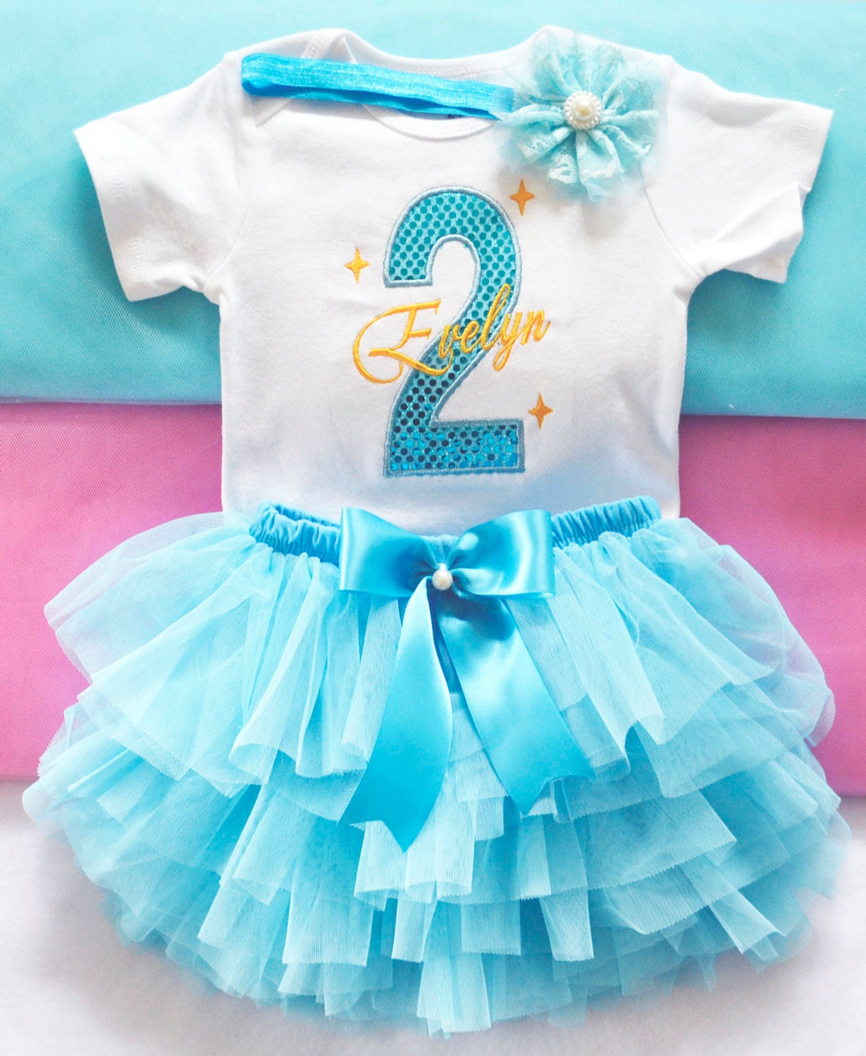 Modern 1st Birthday Party Dress For Baby Girl Embellishment - All ...