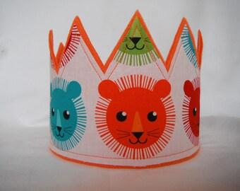 Lion Crown, Zoo Party Crown, Safari Crown, Boys Birthday Crowns, Kids Crown, Jungle Crown, Jungle theme party, Photo Shoot Prop, Smash Crown