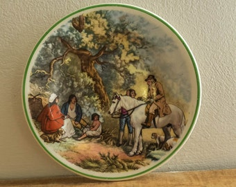 Vintage Staffs Tunstall Made in England Pin Dish - c1950s