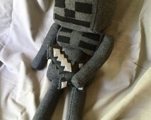 Wither skeleton minecraft plush toy
