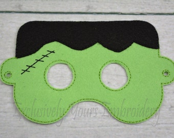 Frankie Children's Mask  - Costume - Theater - Dress Up - Halloween - Face Mask - Pretend Play - Party Favor