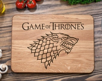 Game of Thrones, Dinner is Coming, Custom Cutting Board, Personalized Cutting Board, Cutting Board,  Wood Cutting Board, Anniversary Gift