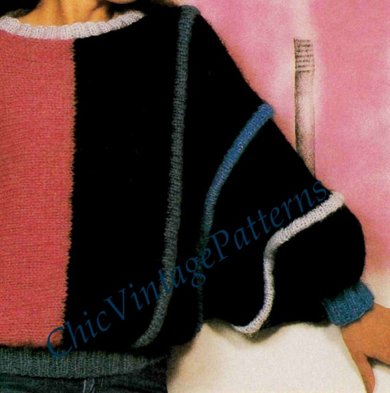 Knitted Sweater ... Ladies Batwing Sleeve Jumper ... Casual Elegance, Stunnin...