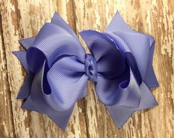Iris hair bow