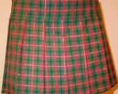 Some Lamb plaid skirt