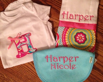 Monogram Gift Set for Baby