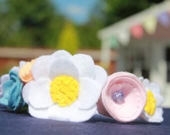 The Bouquet flower Headband