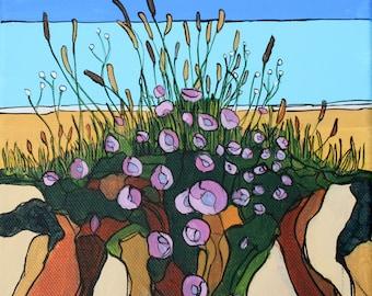 Flowers on the Dunes (Print)