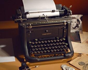 Dated, typewriter, Underwood, 1939, Worlds Fair, Judy Garland, Silver Certificate, Morgan Dollar, World War 2, Fountain Pen