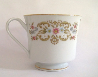 Vintage Tea Cup Fine Porcelain China Tea Party Gift Sip and See