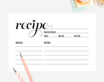 Recipe Card Template Word 17 Recipe Card Templates Free Psd