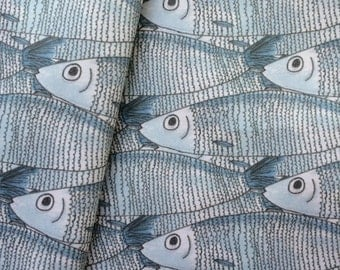 Sardine Cotton Fabric By The Metre