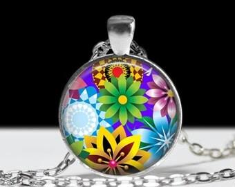 Flower Necklace Flower Jewelry Flower Keychain