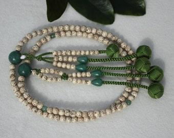 Soka Gakkai SGI 108 counter beads Nichiren Japanese Buddhist Bodhi malas free international shipping