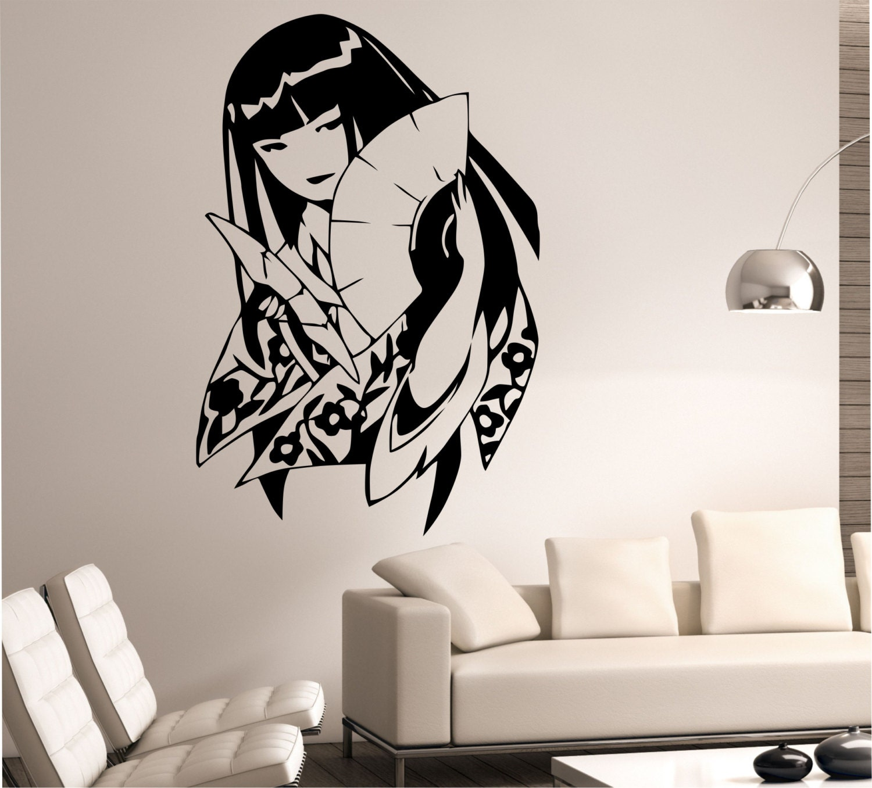 Geisha Wall Decal Sticker Art Decor Bedroom by StateOfTheWall