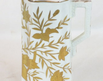"""Royal Viena chocolate pot with Beehive mark. 9"""" tall, 5 1/2"""" wide, marked on the bottom"""