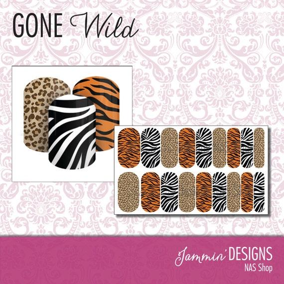 Gone Wild NAS (Nail Art Studio) Design