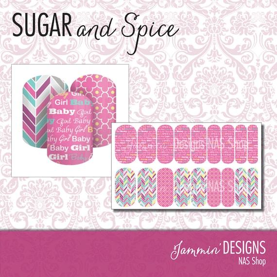 Sugar and Spice NAS (Nail Art Studio) Design