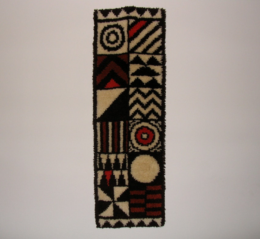 tapis mural design su dois mi si cle ann es 70 d coration